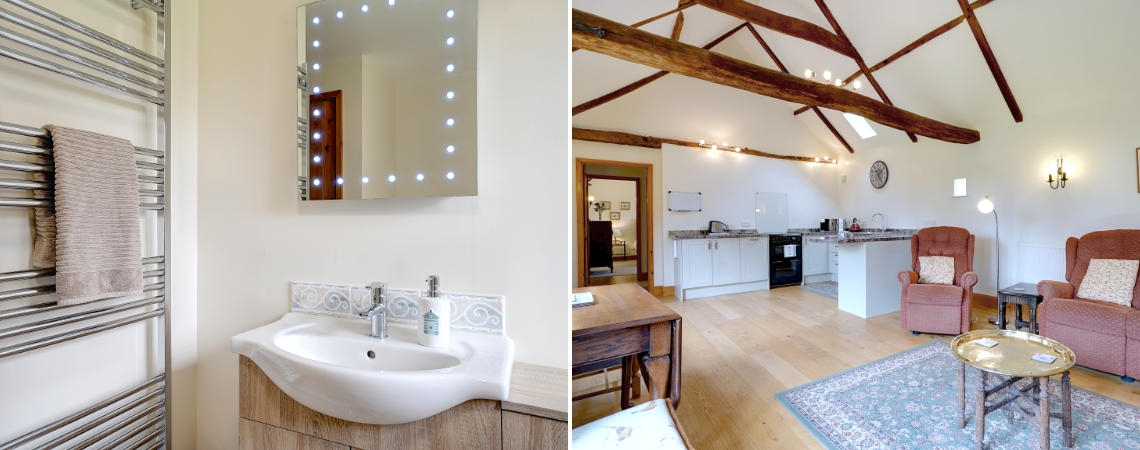 Oak Barn - Bathroom