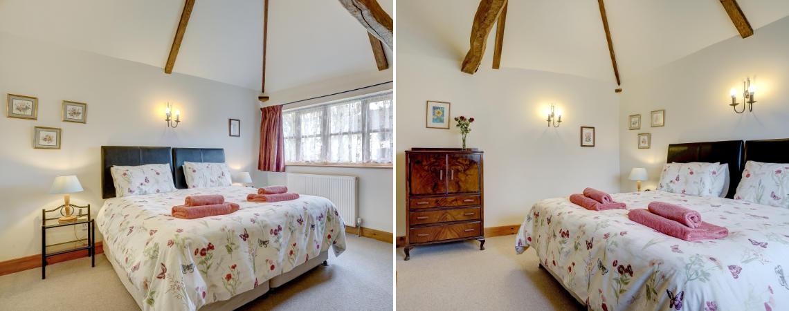 Oak Barn: Bedroom