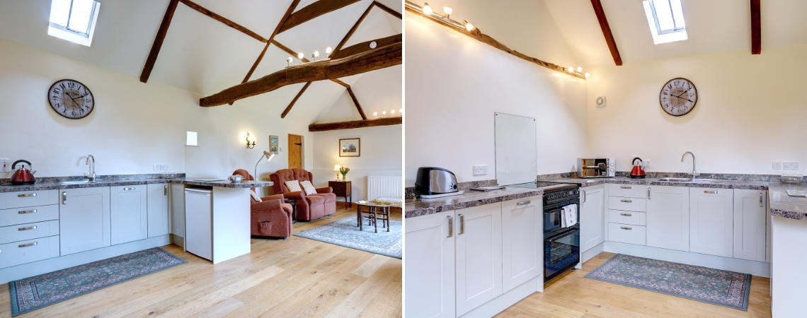 Oak Barn - Kitchen