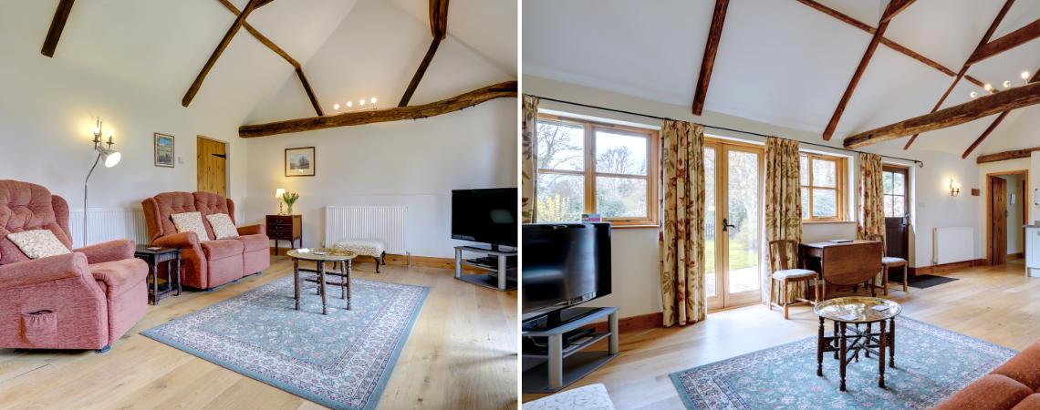 Oak Barn - Sitting Room